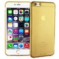 iPhone 6 Plus / 6S Plus G-Case Ultra Slim Silicone Case - Transparent Gold