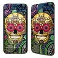 Película Decorativa Sugar Skull Paisley Para iPhone 6 Plus